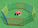 PETGARD Freigehege Kleintiergehege Roberto für Hamster mit 8 Elementen inkl. Nagerhaus