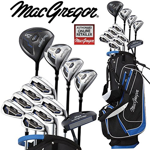 6b54aabbb3d MacGregor DCT2000 Mens Golf Set Deluxe Stand Bag All Graphite Shafted  Package Set + FREE Umbrella