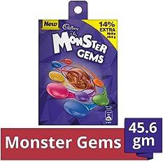 Cadbury Monster Chocolate Gems, 45.6g