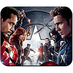Capitan America Captain America Civil War A Alfombrilla Mousepad PC