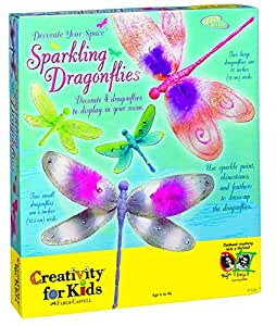 Creativity for Kids - Sparkling Dragonflies