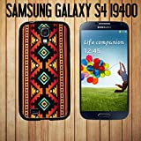 Native American Tribal Pattern Custom made Case/Cover/skin FOR Samsung Galaxy S4 - Black - Rubber Case ( Ship From CA)