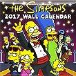 The Simpsons Official 2017 Calendar - Square 305x305mm Wall Calendar 2017