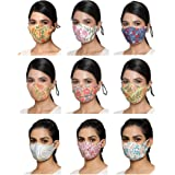 11:11 Handblock Print 7-Layer Premium Lab Certified Mask (Pack of 5 Prints)