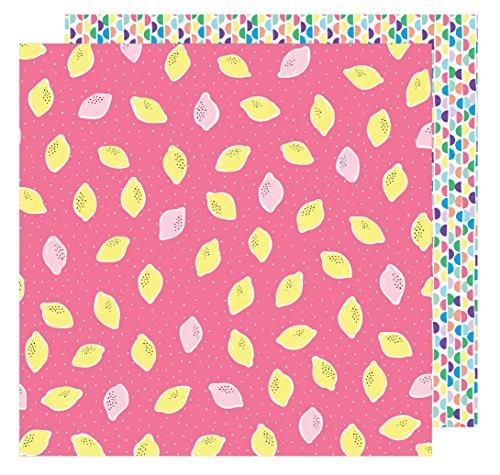 AMY Tan 30,5x 30,5cm Papier Quetschen der Tag (25Pack), 12-x-12-inch
