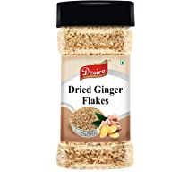 Desire Dried Ginger Flakes 80 Gram [Improves Digestion & Boosts Immunity]