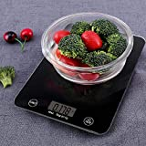 RYLAN Electronic Flat Panel Digital Kitchen Scale Weighing Machine with Sensor System, Weight Machines for Kitchen, Weight Machine, Weight Scale Kitchen, Kitchen Weight Machine Digital