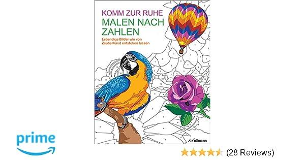 Malen nach Zahlen: Komm zur Ruhe: Amazon.de: David Woodroffe: Bücher