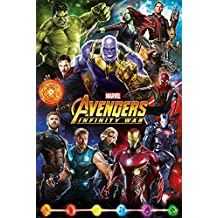 Póster Marvel Avengers Infinity War - Héroes (61cm x 91,5cm)