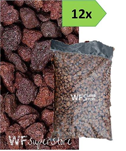 Lapillo vulcanico rosso 10/18 - 12 sacchi da 33 lt. - pacciamatura giardino
