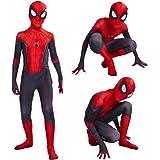 Leezeshaw Superhéroe Spiderman Disfraces Unisex Adultos Niños Lycra Spandex Zentai Spider Verse Miles Morales Mono Mono Mono