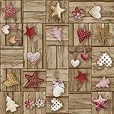 Ferrero Bedruckte Leine, Weihnachtsmotiv, Rudolph