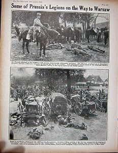 1915 Huns Français de la Pologne de Forts de Gallipoli de l'Avion WW1