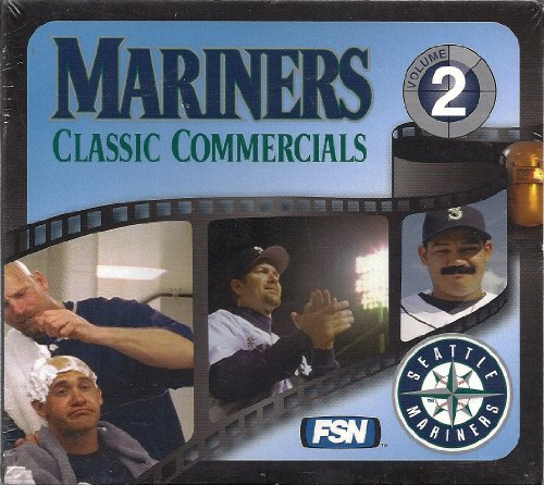 Seattle Mariners-video (Seattle Mariners Classic Commercials, Volume 2)