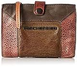 Taschendieb Damen TD0125g, Börse, Grau (grau), 14x10x2,5 cm
