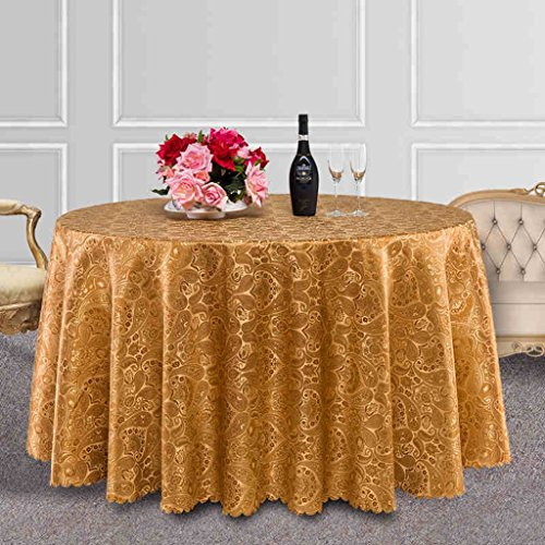 BSNOWF- Nappes Nappe de restaurant de l'hôtel Tissu à café Tissu à pois rond carré peut être personnalisé Tissu en option Optionnel ( Couleur : A , taille : 140*180cm )