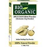 Indus Valley BIO Organic Bentonite clay (Multani Mitti Powder) 200g