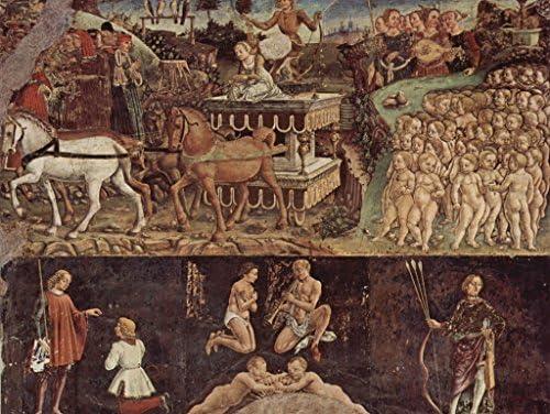 Lais Puzzle Francesco Del Cossa - Procession Procession Procession triomphale d'Apollon 1000 Pieces | élégante  8620f4