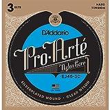 D' Addario EJ46–3d classico 6pezzo (i) Nylon chitarra Corda per strumenti musicali–Corde per Strumenti Musicali, Chitarra, Nylon, classico, 6pezzo, S