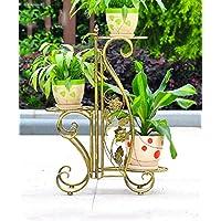Im Freien Kraut Blumen Pflanze Steht Fußboden   Art Eisen Minimalist  Modernes Wohnzimmer Balkon Blumenständer Drei