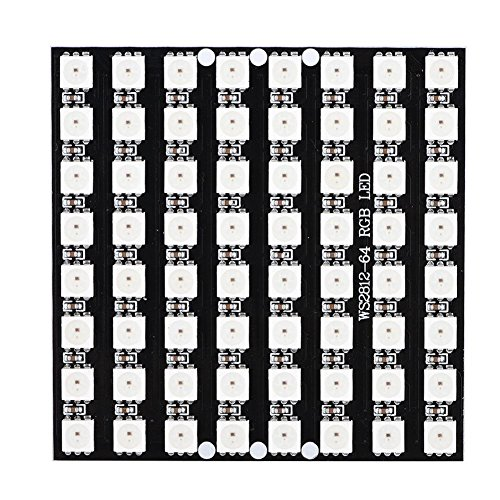 Zerone Cjmcu 64 bit 8 * 8 WS2812B 5050 RGB LED Pilote de Couleur Carte de Développement Module Décoration Ampoule Lumières pour Micro-contrôleur Arduino