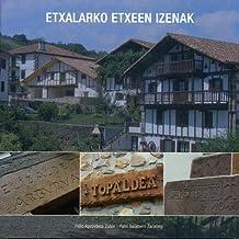 Etxalarko Etxeen Izenak