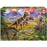 Educa 15969 - Dinosaurier-Treffen, 500 Teile Puzzle
