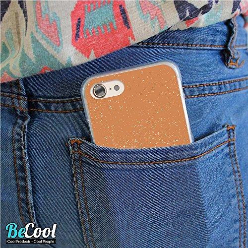 BeCool®- Coque Etui Housse en GEL Flex Silicone TPU Iphone 8, Carcasse TPU fabriquée avec la meilleure Silicone, protège et s'adapte a la perfection a ton Smartphone et avec notre design exclusif. We  L1576