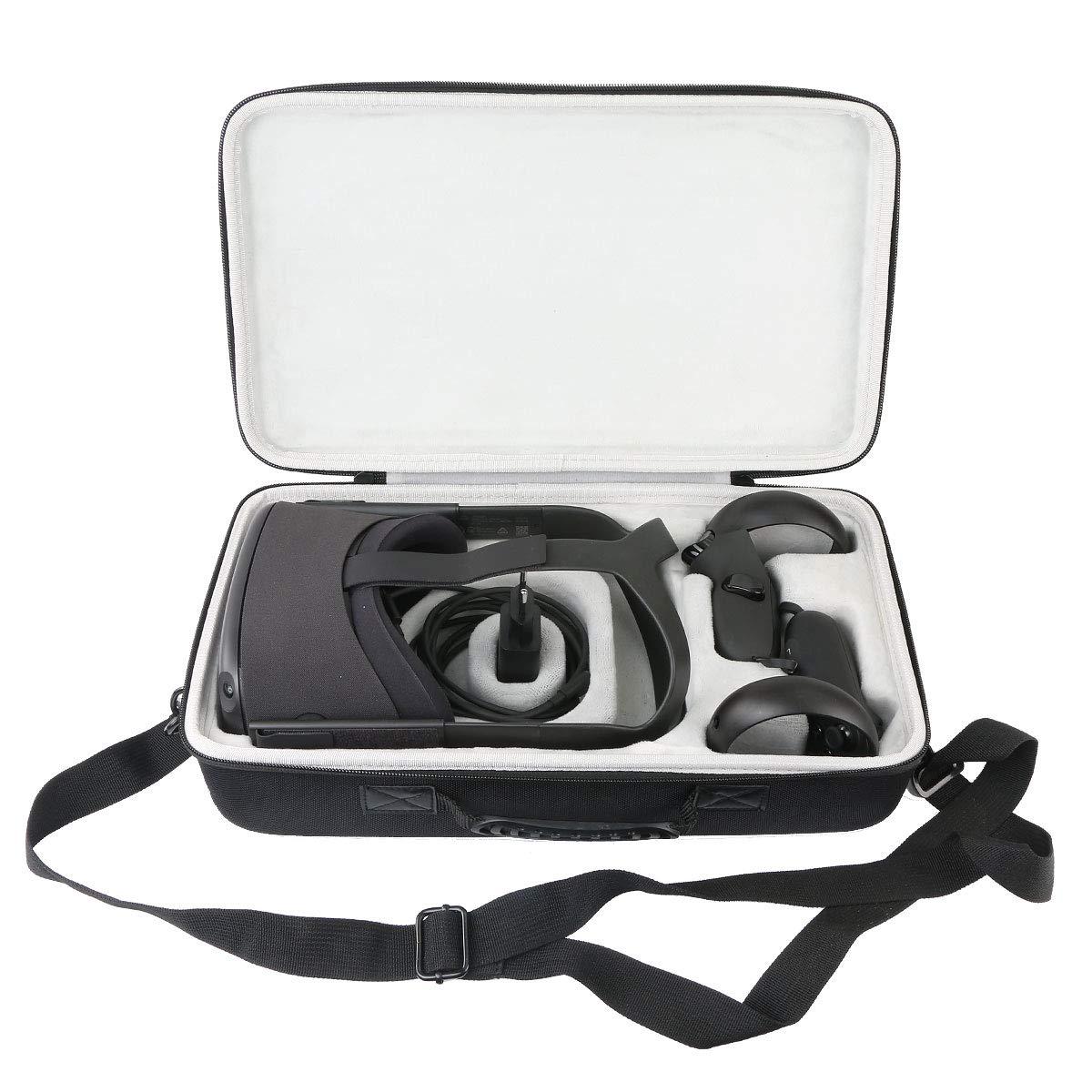 Khanka Dur Cas étui de Voyage Housse Porter pour Oculus Quest Casque de réalité virtuelle All-in-One 64Go
