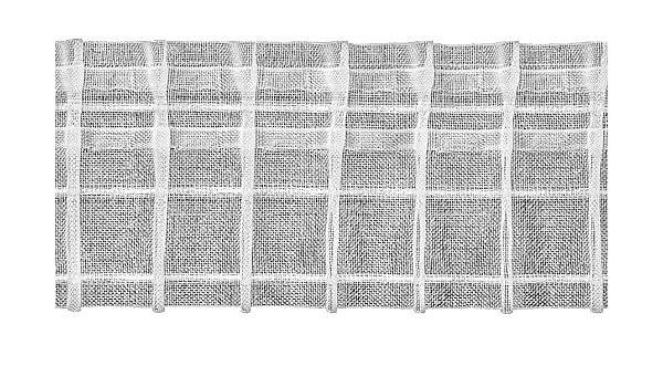 Polyester 1000 x 8 x 0.1 cm Ruther /& Einenkel Bleistiftfalte 80 mm halbtransparent 200/% // Aufmachung 10 m