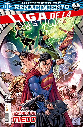 Liga de la Justicia 60/5 (Liga de la Justicia (Nuevo Universo DC)) por Bryan Hitch