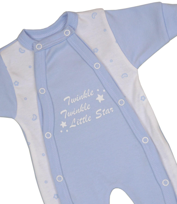 Babyprem Bebé Prematuro Pijama Mameluco Ropa Algodón Niñas Niños Twinkle Little Star 32-50cm 2