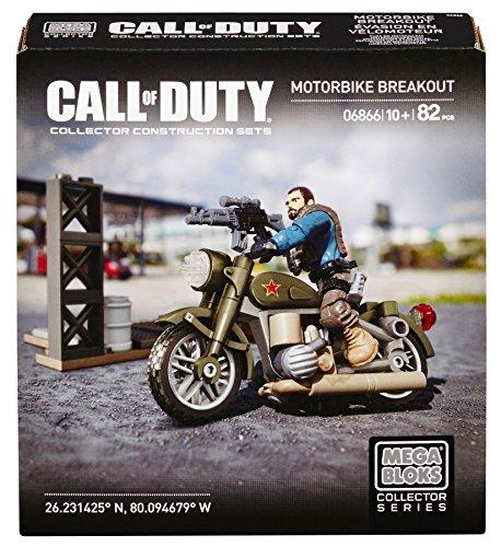 Mattel Mega Bloks Mega Bloks 6866 - Call of Duty Motorbike Breakout