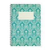 WIREBOOKS Notizbuch | Notizblock | Notizheft | Spiralblock 5029 DIN A5 120 Seiten 100g Papier kariert