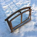 Antikas | Eisenfenster zum Öffnen | Höhe: 25,3 cm - Breite: 37,5 cm | als Scheunenfenster oder Stallfenster