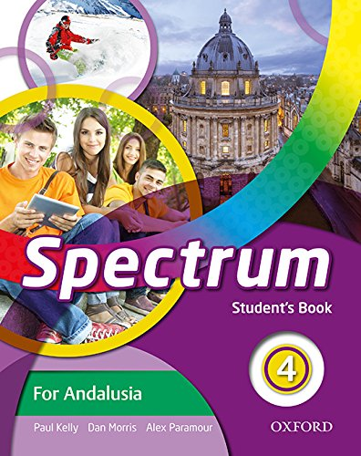 Spectrum 4. Student's Book Andalucía - 9780194810401