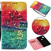Everainy Xiaomi Mi Mix 2S Hülle Silikon PU Leder Flip Wallet Case Gummi Schutzhülle Kartenfach Magnet für Xiaomi... preisvergleich bei billige-tabletten.eu