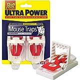 Ultra-Power-musfodral – dubbelpack, röd/vit