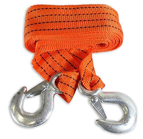Toolusa Orange fluo Corde de remorquage, 3 tonnes Capacité : Ta7715-yx