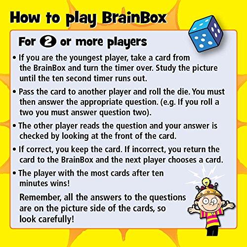 Imagen 2 de Green Board Games BrainBox The World - Juego de preguntas sobre el mundo (en inglés)