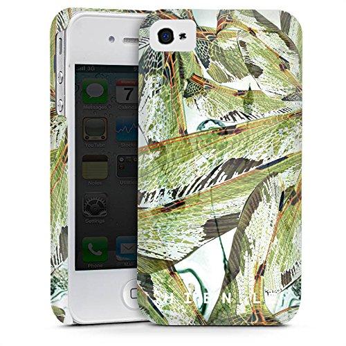 Apple iPhone 5 Housse étui coque protection HIEN LE Fashionweek Libellule Cas Premium mat