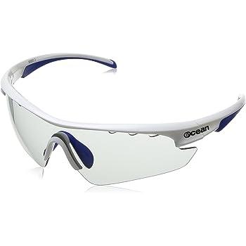 Ocean Sunglasses Ironman - gafas de sol- Montura : Blanca/Azul - Lentes : Fotocromáticas (90000.3)