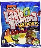 nimm2 Lachgummi Heroes – Spaßiges Fruchtgummi mit Vitaminen – 18er Pack (18 x 180g)