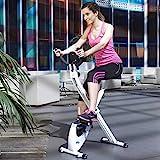 ION Fitness TRON FI012 klappbarer heimtrainer- magnetisches bremssystem - 8 kg schwungmasse - transporträder