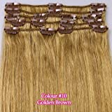 """Best Full Hair Remy Hair Extensions - Full Head 16""""18""""20""""22""""24""""26"""" Clip in 100% Remy Real Review"""