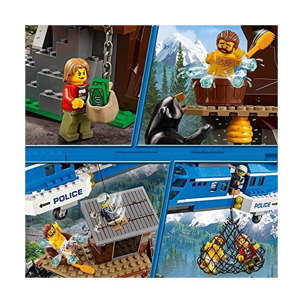 LEGO- City PoliceArresto in Montagna, Multicolore, 60173 2 spesavip