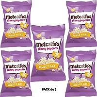 Metcalfe's Palomitas Mezcla Dulce y Salado 25g Pack de 5