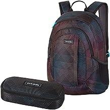 DAKINE 2er SET Laptop Rucksack Schulrucksack 20l GARDEN + SCHOOL CASE Mäppchen Stella