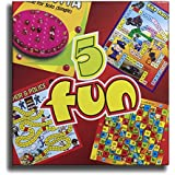 5 Fun - Enjoy Brainvita, Snakes & Ladder, Chor Police, Bike Rally & Monkey Race In One Pack