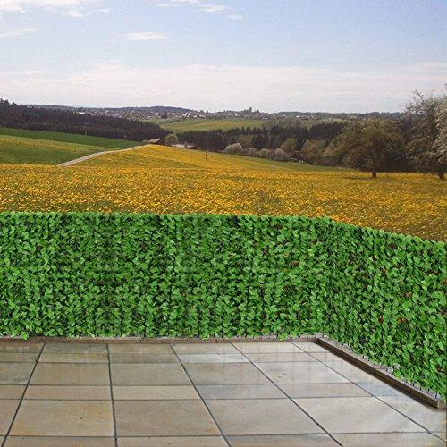 Reticolato per privacy giardino balcone anche decorativo filo plastica e ferro 300x100cm